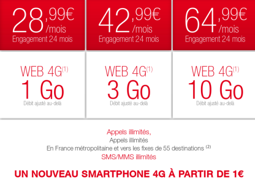 forfaits-ultimate-4G