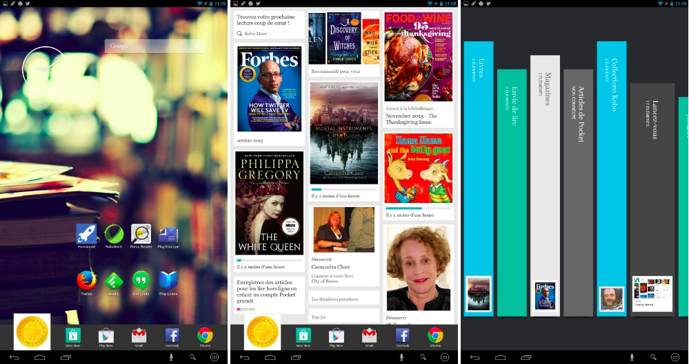 frandroid 4.2.2 jelly bean kobo arc 10 hd interface logicielle 02