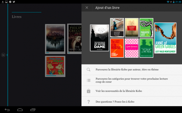 frandroid 4.2.2 jelly bean kobo arc 10 hd interface logicielle 18