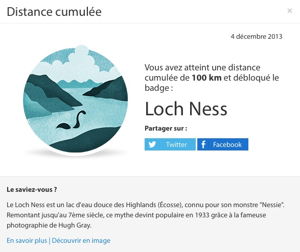 Withings - Badge Loch Ness