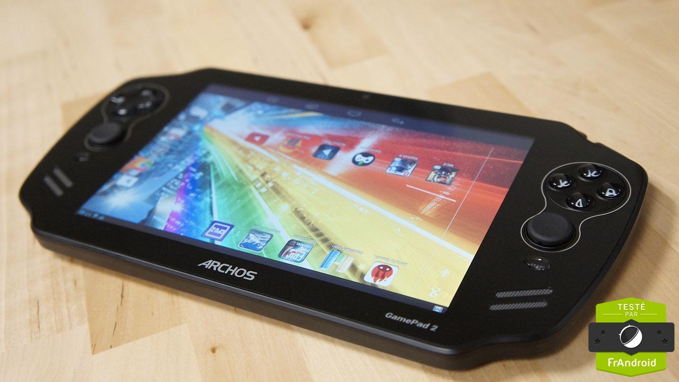 test  de larchos gamepad une seconde tablette console en version amelioree