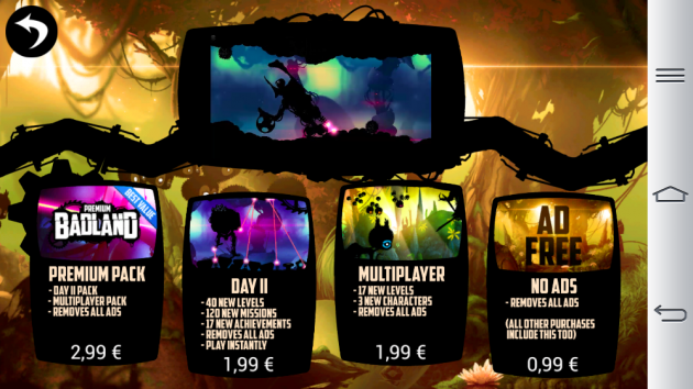 android badland frogmind pack disponibles image 01