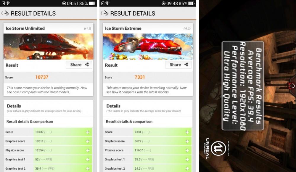 android frandroid test oppo n1 benchmark 3dmark epic citadel