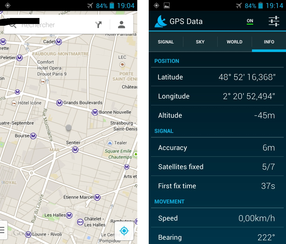 android frandroid test zte blade q synchronisation geolocalisation gps image 0