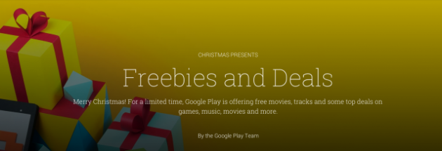android google play store merry christmas joyeux noel 2013 image 0