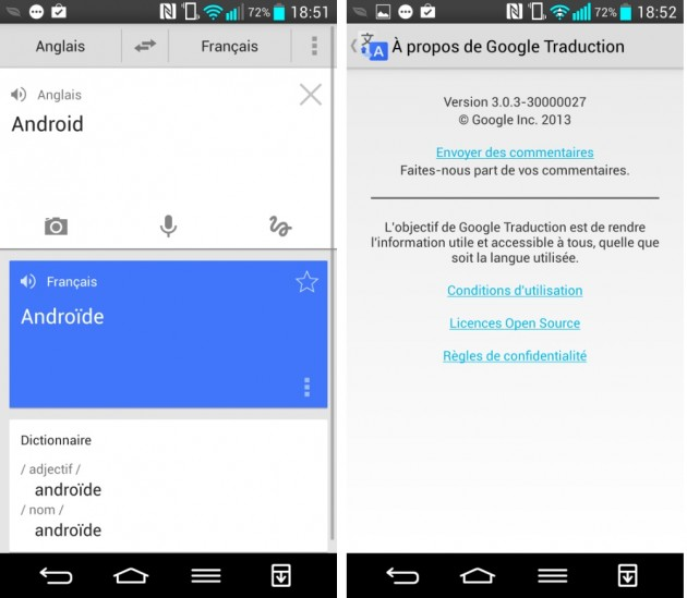 android google traduction 3.0.3 google translate images 0
