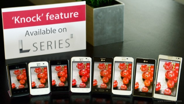 android knockon lg l series ii image officielle 0