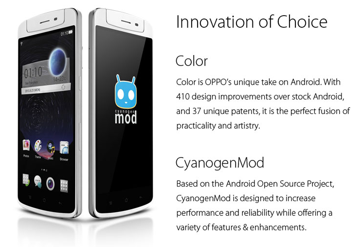 android oppo n1 cyanogenmod limited edition image 01
