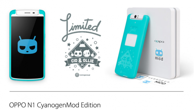 android oppo n1 cyanogenmod limited edition limitée disponible 449 euros