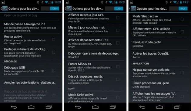 android options pour les développeurs mode images 01
