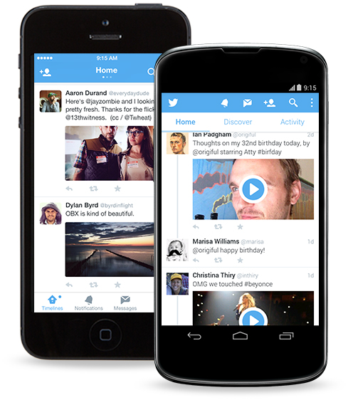 android twitter 5.0.5 ios