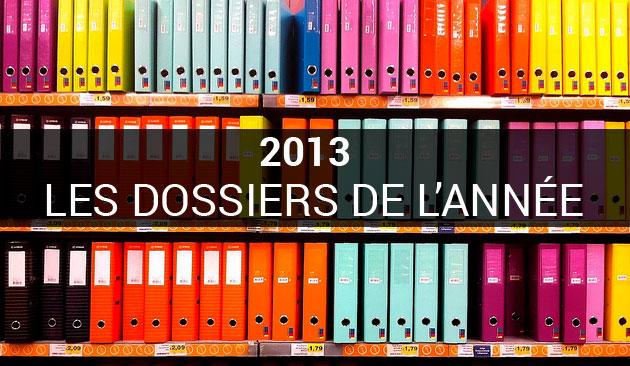 Dossiers de l'année