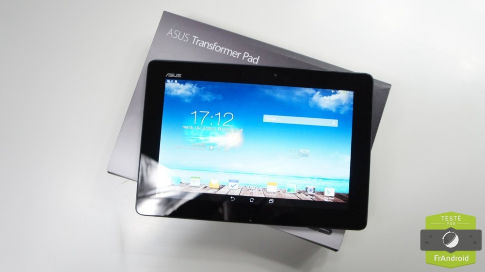 frandroid android asus transformer pad tf701t test prise en main 02