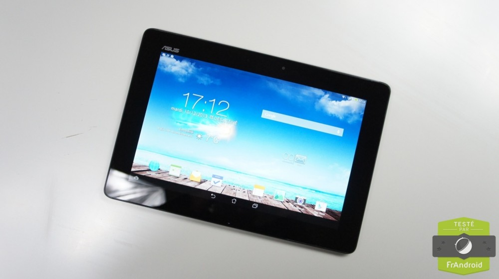 frandroid android asus transformer pad tf701t test prise en main 03