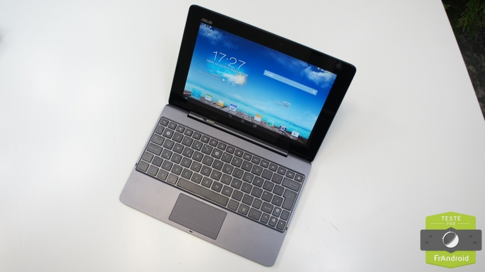 frandroid android asus transformer pad tf701t test prise en main 14