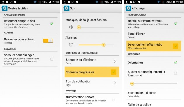 frandroid test alcatel one touch idol x interface logicielle personnalisation images 00