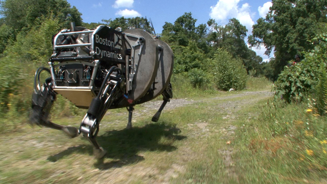 google boston dynamics robot