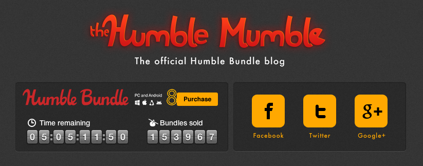 humble bundle pc and android 8 christmas noël 00