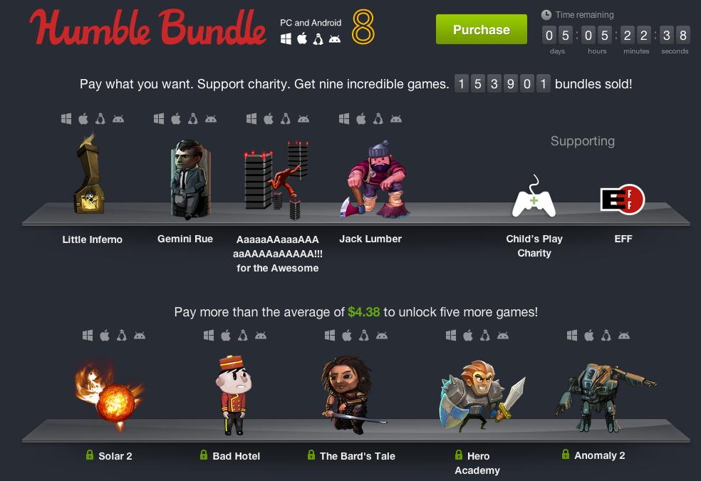 humble bundle pc and android 8 trois nouveaux jeux ont. Black Bedroom Furniture Sets. Home Design Ideas