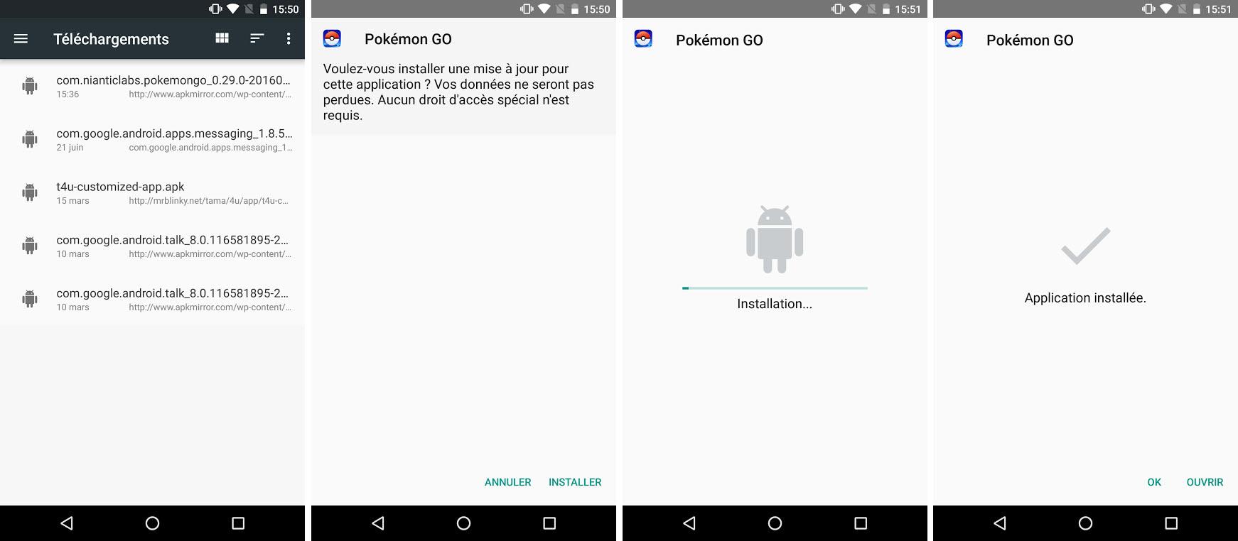 Télécharger branchement App pour Android