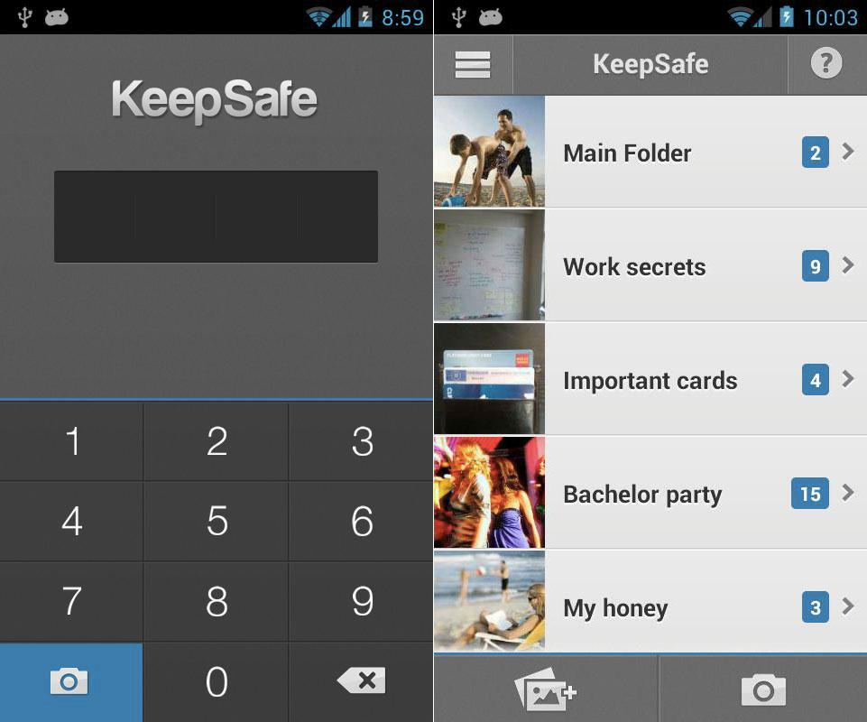 Download keep safe