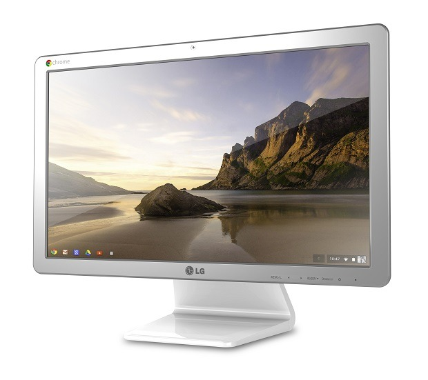 lg annonce le chromebase du chrome os sur un pc all in one frandroid. Black Bedroom Furniture Sets. Home Design Ideas