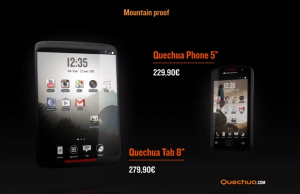 Quechua Tab 8