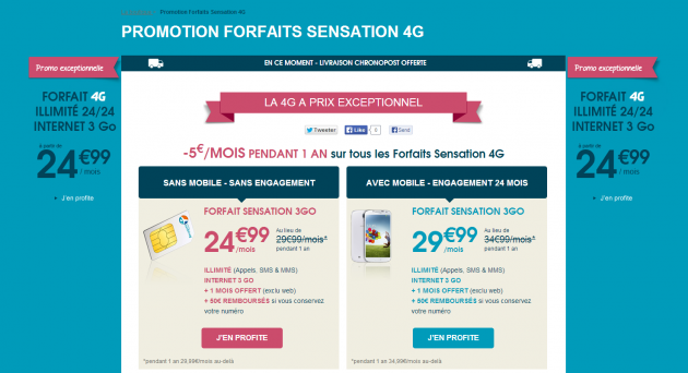 Bouygues Telecom : promotions