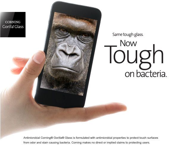 Corning-Anitimicrobial-Gorilla-Glass