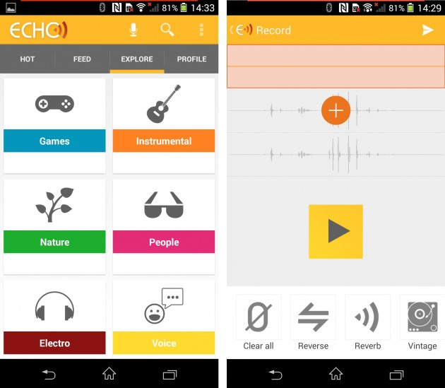 Echo-social-music-app-application