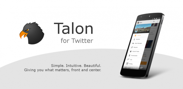 andorid talon for twitter 1.0.1 bannière 00