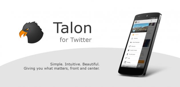 andorid talon for twitter 1.0.1 bannière 00