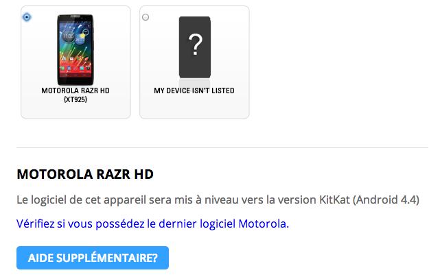 android 4.4 kitkat motorola razr hd xt925