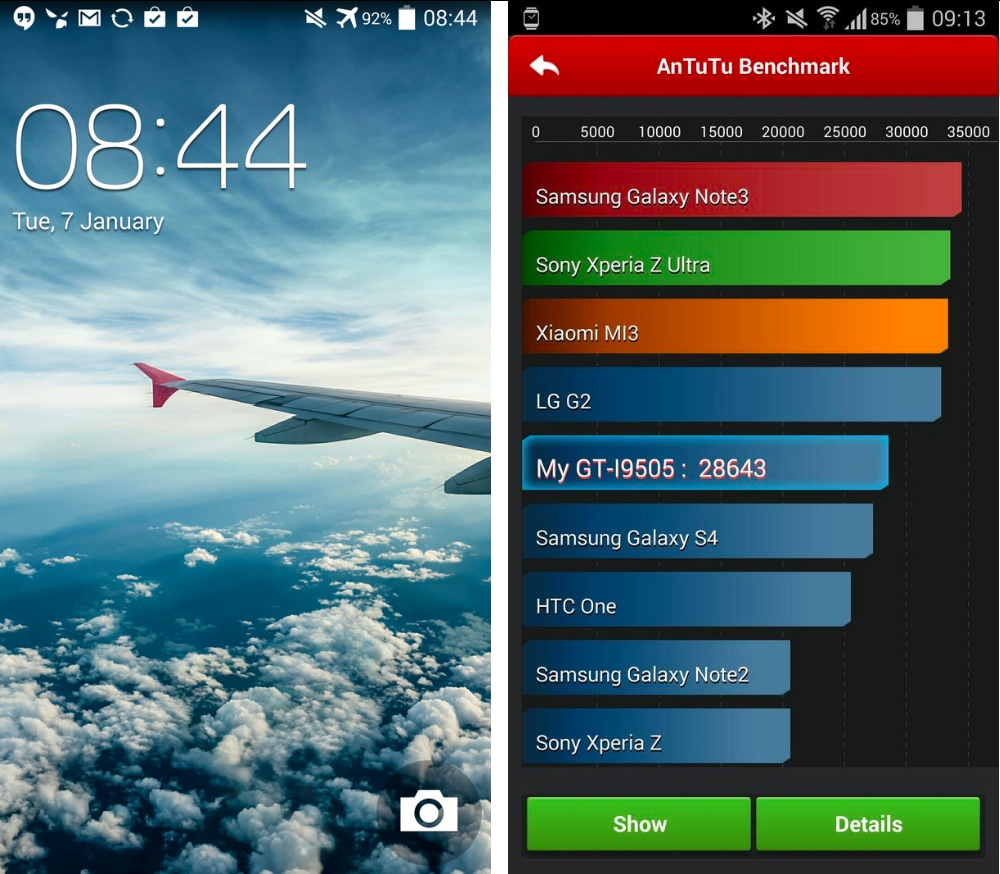 android 4.4 kitkat samsung galaxy s4