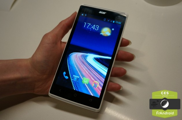 android acer liquid z5 duo ces 2014