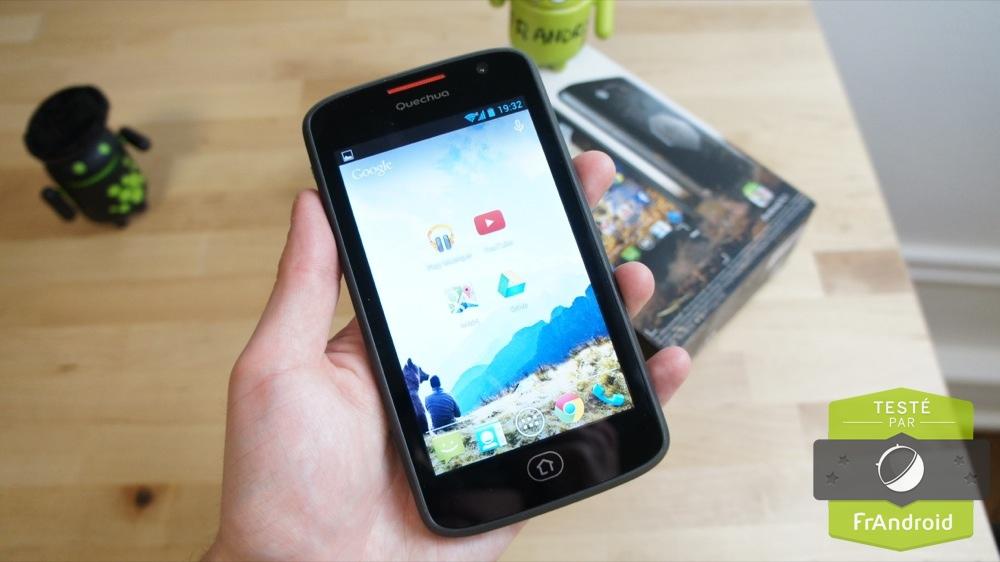 android fandroid quechua phone 5 prise en main 06