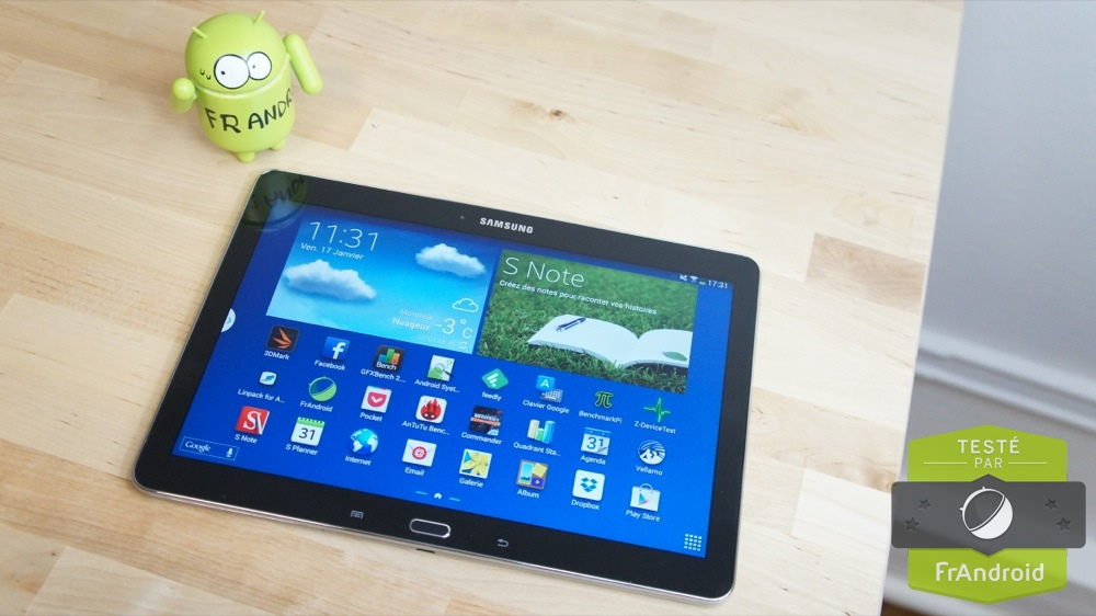 test de la tablette samsung galaxy note 10 1 2014 edition. Black Bedroom Furniture Sets. Home Design Ideas