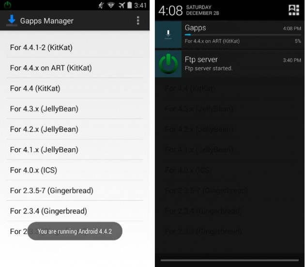 android gapps manager images 0