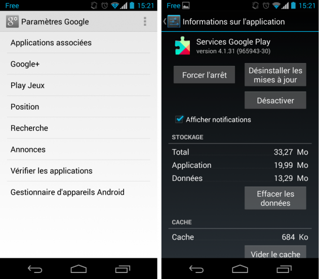 android google play services 4.1.3 janvier january 2014