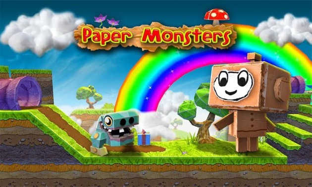 android paper monsters image 01