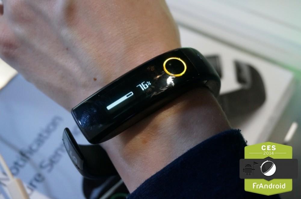 Bracelet LG LiveBand Touch
