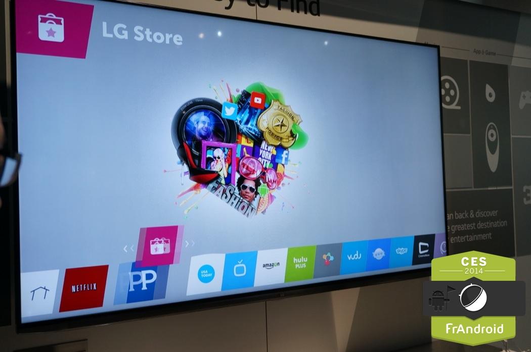 CES 2014 : la r�surrection de webOS au sein d'une TV chez LG ...