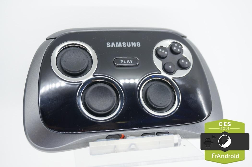 Prise en main Samsung Galaxy GamePad, la manette pour