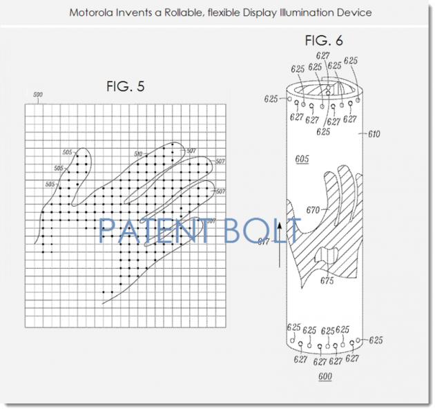 patent-enroulable-flexible-et-c'est-électronique