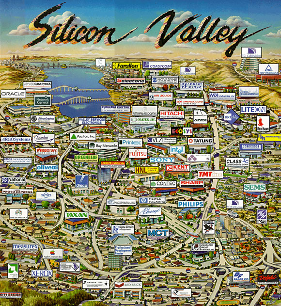 silicon-valley-USA-EUA-nex tech-North California