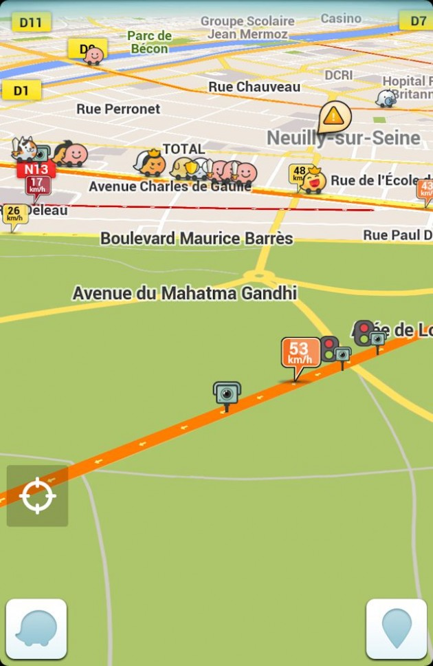 tuto hack comment r afficher les radars sur waze frandroid. Black Bedroom Furniture Sets. Home Design Ideas