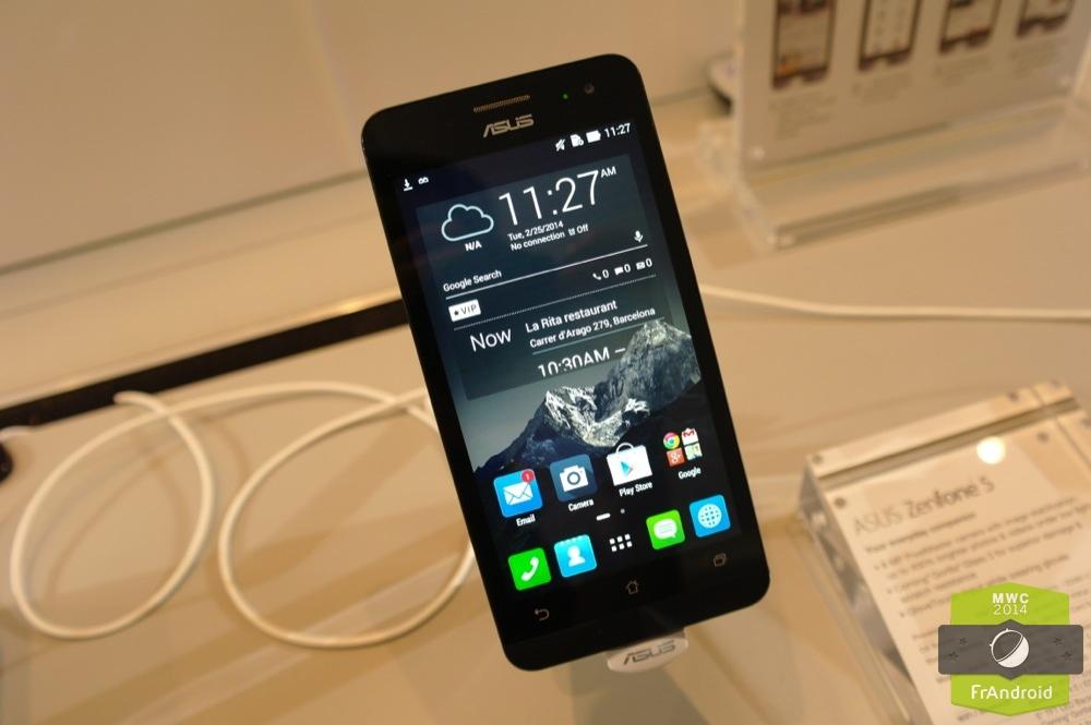 Android ASUS ZenUI ZenPhone Prise En Main FrAndroid MWC