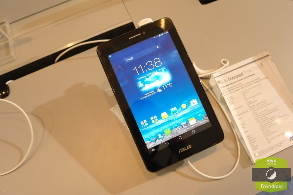 Android Prise En Main FrAndroid ASUS Fonepad ME175CG Image 01