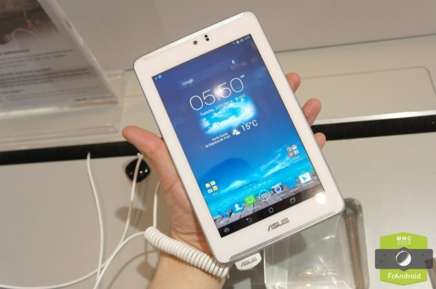 Android Prise En Main FrAndroid ASUS Fonepad ME372C LTE 4G Image 02