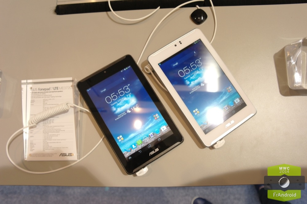 Android Prise En Main FrAndroid ASUS Fonepad ME372C LTE 4G Image 06